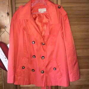 Orange Michael Kors   jacket perfect fall 1X
